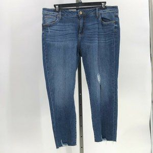 Kut from the Kloth ankle straight leg jeans 16W